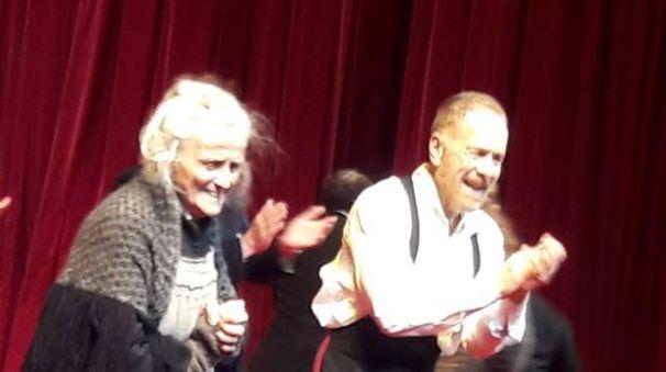Il padre Strindberg, Lavia alla Pergola
