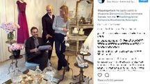 Il post su Instagram di Filippa con Enzo Miccio