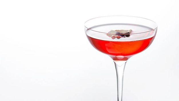 Il cocktail di Nicola Scarnera, secondo classificato – Foto: Campari