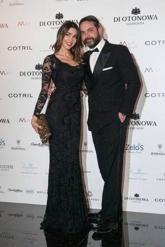 Dal 2014 è legata sentimentalmente all'imprenditore Gianluca Mobilia da cui lo scorso anno ha avuto una bambina, Maria Isabelle (foto LaPresse)