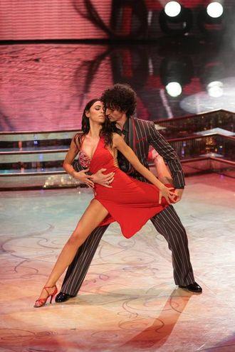 La partecipazione a 'Ballando con le stelle' del 2010 (foto LaPresse)