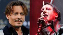 Jhonny depp Marilyn Manson (Lapresse, Fotowebgio)