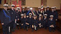 Il gruppo della polizia municipale
