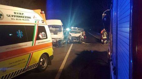 L'incidente mortale avvenuto all'altezza di Serramazzoni