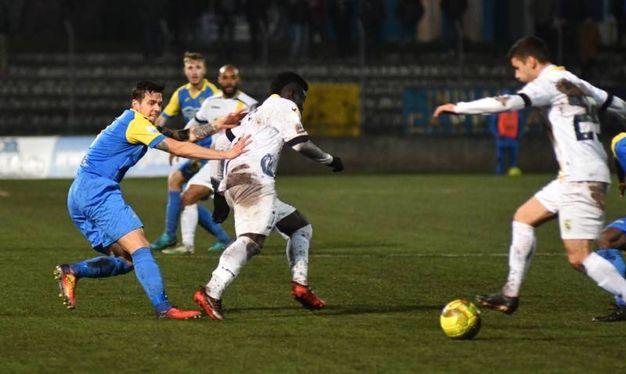 Carrarese-Viterbese 0-1, le foto della partita (Delia)
