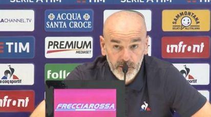 Stefano Pioli in conferenza stampa prima di Samp-Fiorentina