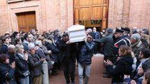 Il funerale di Caterina Milocco a Buonconvento (foto Di Pietro)