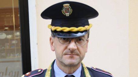 Il comandante Francesco Rizzo