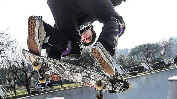 Le prodezze della nazionale di skateboard