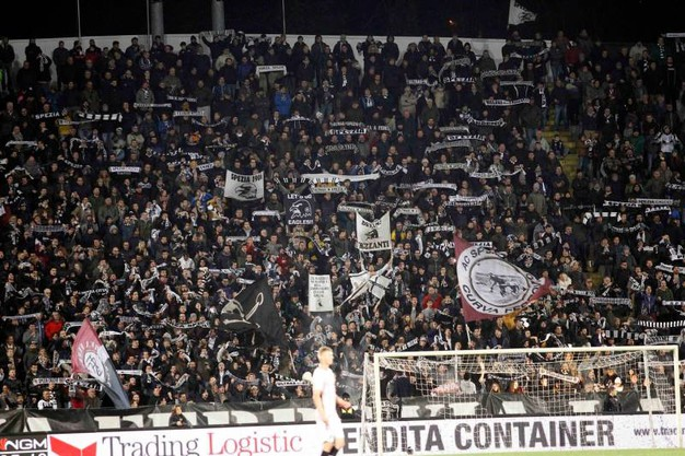 Spezia-Palermo (foto LaPresse)