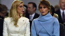 Ivanka e Melania Trump (Afp)