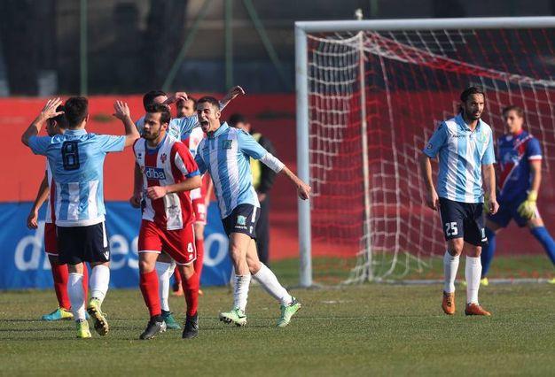 Cinque segna la sua terza doppietta consecutiva per il San Marino (Fotoprint)