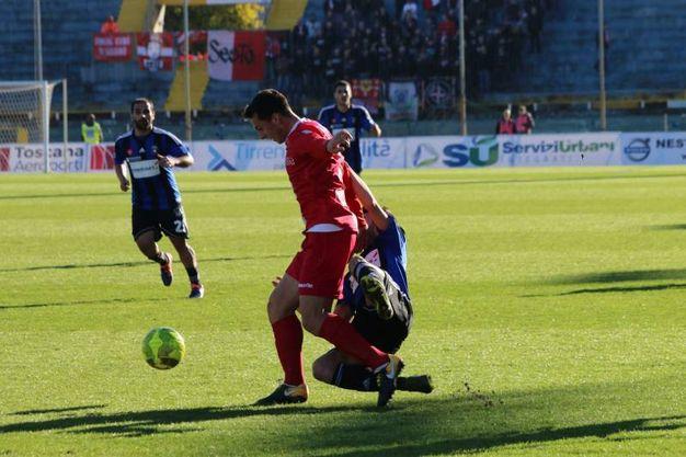 Pisa-Monza 1-0, le foto della partita (Valtriani)