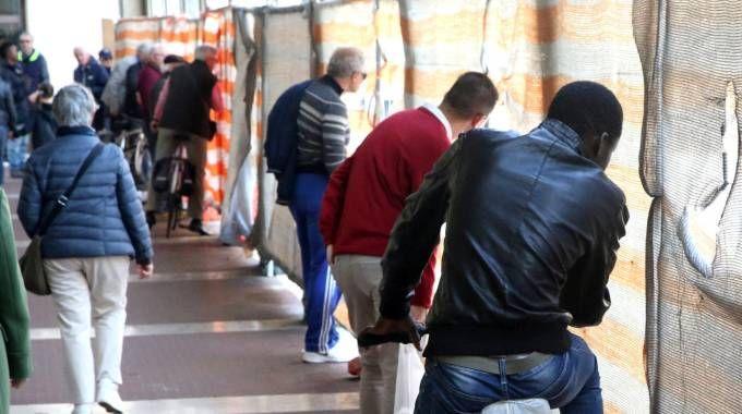Cesena, lavori in piazza della Libertà (foto Ravaglia)