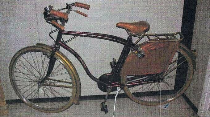 La bicicletta sequestrata ad Alberto Stasi