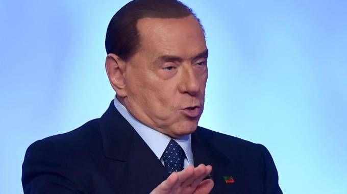 Il leader di FI Silvio Berlusconi (Ansa)