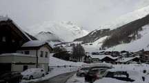 Meteo, Val Senales isolata per neve (foto Ansa)