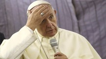 """Papa Francesco: """"Ho usato il termine sbagliato"""" (Afp)"""