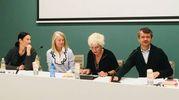 Un momento dell'incontro promosso da Fondazione Fico con Andrea Segrè