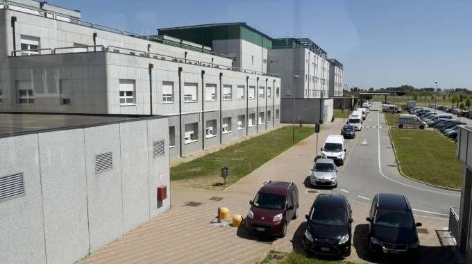 La parte dell'ospedale di Cona che dovrebbe essere acquisita da Inail, con uno stanziamento di 65 milioni