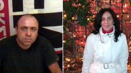 Davide Mango e Anna Carusone (Ansa/Facebook)
