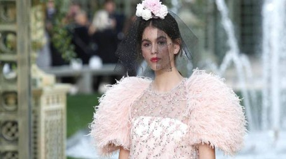 Kaia Gerber per Chanel (Ansa)