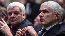 Pier Ferdinando Casini con il ministro dell'ambiente Gian Luca Galletti