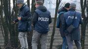 """Sopralluogo della polizia nel """"punto zero"""", dove ha ceduto il binario"""