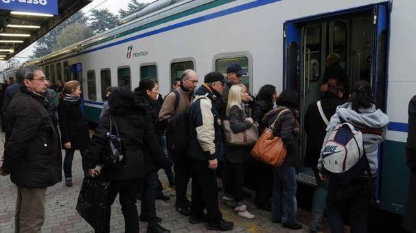 Treni della Milano-Mortara