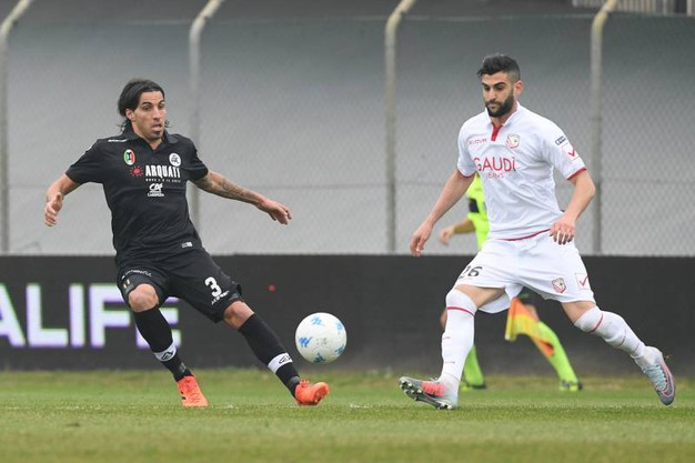 Carpi - Spezia 2-1 (Foto Lapresse)