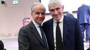 Presente anche Pier Ferdinando Casini (foto Schicchi)