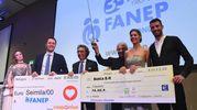 Donati due assegni da 5 e 6 mila euro (foto Schicchi)