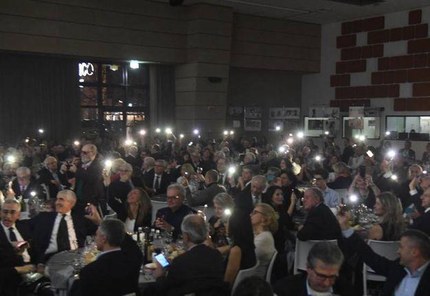 Tante le persone che hanno partecipato alla serata di beneficenza (foto Schicchi)