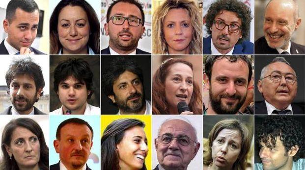 Elezioni 2018, alcuni dei candidati M5S (Ansa)