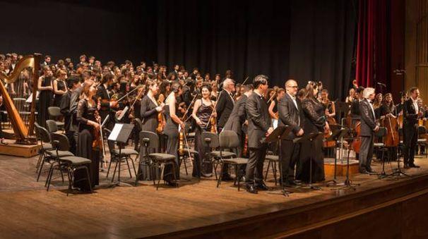 L'Orchestra del Conservatorio Cherubini