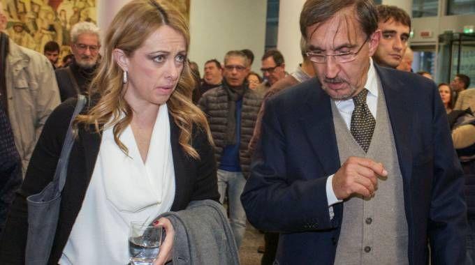 Giorgia Meloni e Ignazio La Russa
