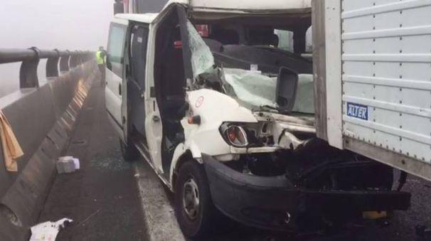 Incidente in A13 fra Ferrara e Occhiobello