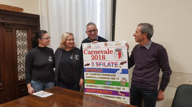 Alessandra Signori, Mina Santi, Giuseppe Forastiero e Remo Bernardini