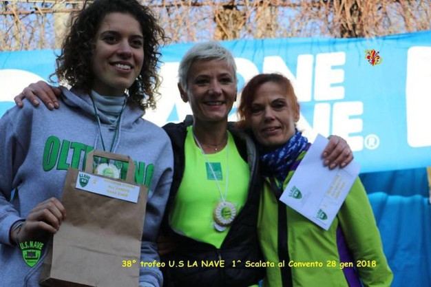 Monika Tomaszun, Elisa Parrini e Eva Grunwald (foto Regalami un sorriso onlus)