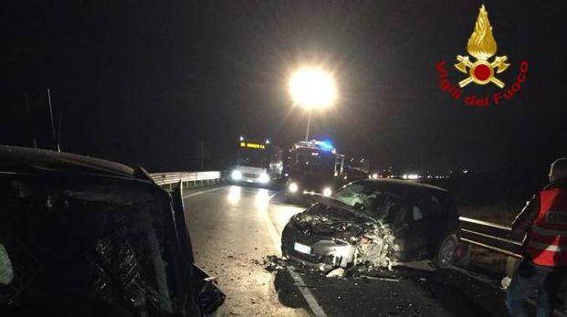 L'incidente sulla Siena-Grosseto