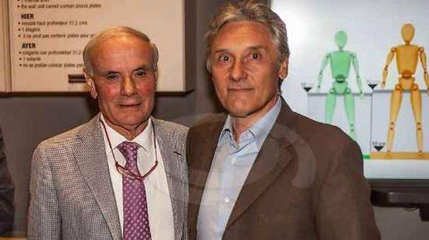 Pasquale Del Tongo con Saronni