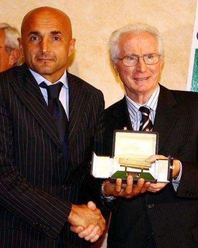 Con Luciano Spalletti  (Ansa)
