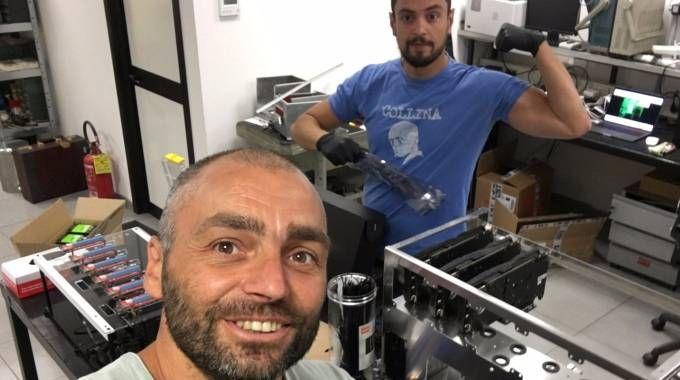 Gabriele Stampa e Gabriele Angeli, fondatori di Bitminer Factory