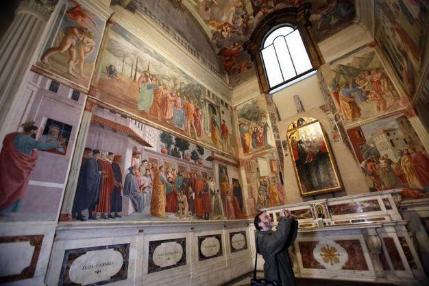 La cappella Brancacci (Marco Mori / New Press Photo)