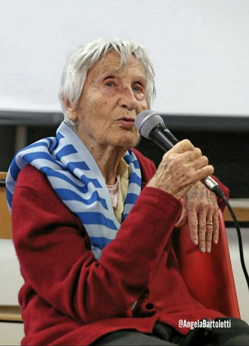 Vera Michelin Salomon a Vaiano (foto di Angela Bartoletti)