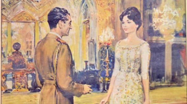 Farah Diba si fidanza con lo Scià di Persia nel 1959