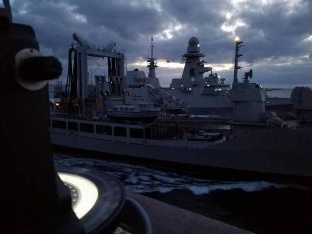 Marina Militare, l'addestramento in mare della Prima divisione navale (foto Marina Militare)