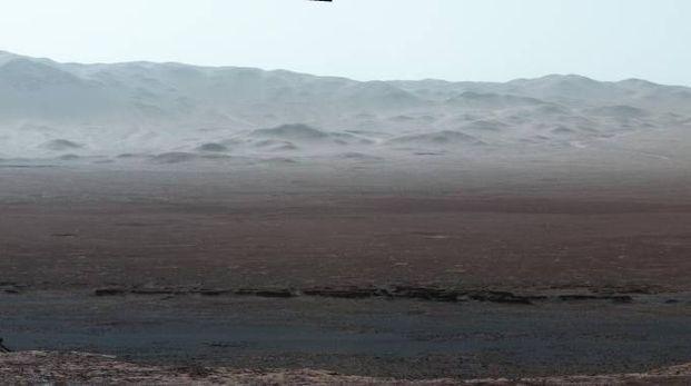 Marte, lo scorcio inedito immortalato da Curiosity