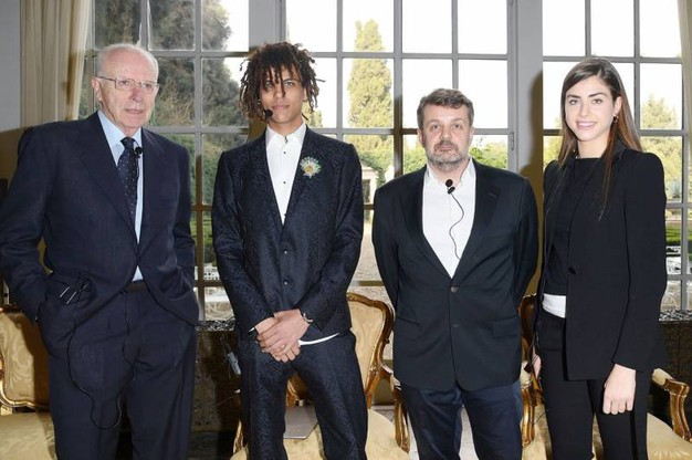 Paolo Bulgari, Roberto Rossellini, Vincent Maylan e Carlotta Bulgari