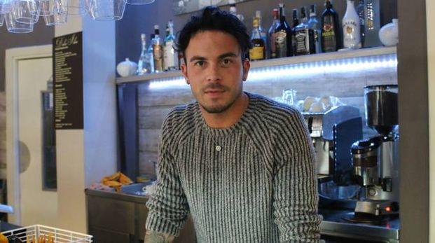 """Michele Chelossi, titolare del bar pasticceria """"Dolce idea"""""""